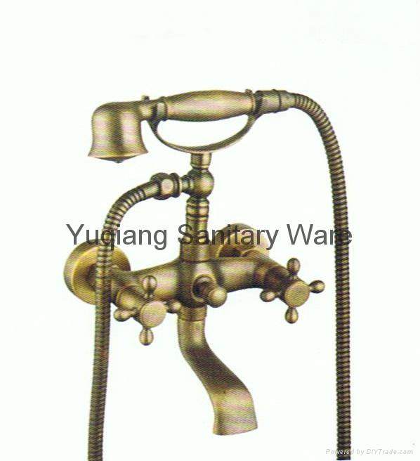 brass antique faucet 1