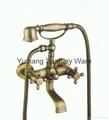 brass antique faucet