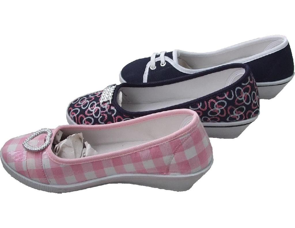 Buy VANCL New Age Slip On Canvas Shoes (Women's) Watermelon SKU