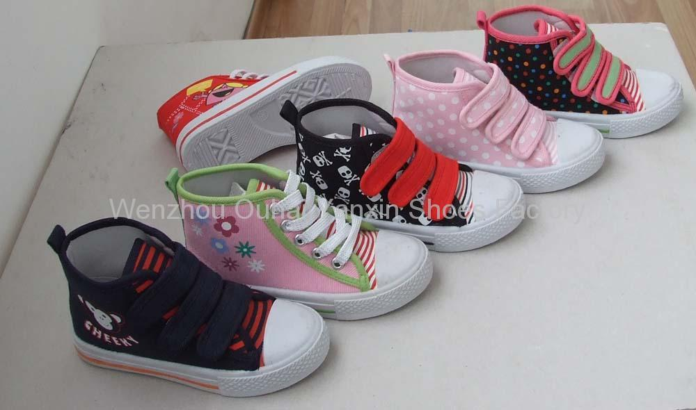 canvas shoes children s injection shoes cloth shoes casual