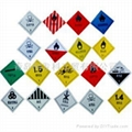 道路運輸危險貨物車輛標誌牌 1