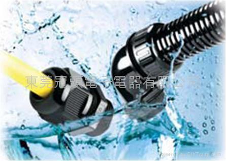 AVC全冠電纜固定頭/浪管固定頭(防水,防松,耐酸碱耐侵蝕)