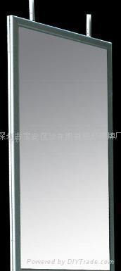 LED铝框人体感应超薄灯箱 3