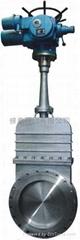 电动煤气污水刀型专用阀