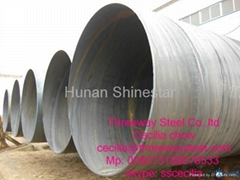 spirally welded steel pipe