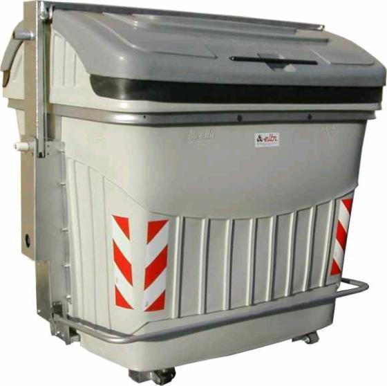 Industrial Garbage Containers : Wheeled waste container garbage bin