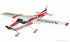 4 CH Cessna 182 RC Airplane RTF w/ Brushless Motor + ESC + Li-Po