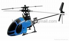 Ready to Fly 4 CH WASP V2 RC Helicopter RTF w/Brushless & Li-Po+Gyro Toys Parts