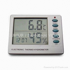 digital thermometer-hygrometer
