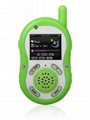 walkie talkie with mp4 player 3