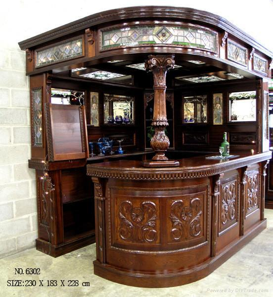 classical wooden bar tablebar roombar chairhand carving bar room furniture home