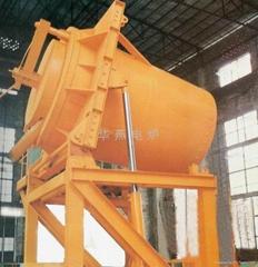 可倾式铝合金熔化炉