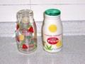 玻璃牛奶瓶