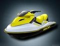 Watercraft with 1400cc 4 stroke Suzuki