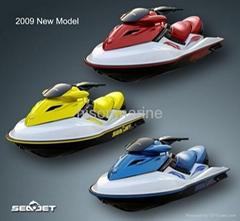 4 stroke Jet Ski with Suzuki DOHC Engine