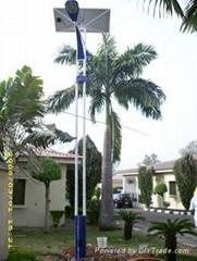 Solar Street Light (Double Fixtures)
