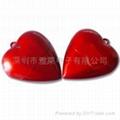 Heart shape USB flash memory