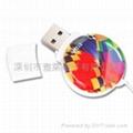 sticker USB flash drives