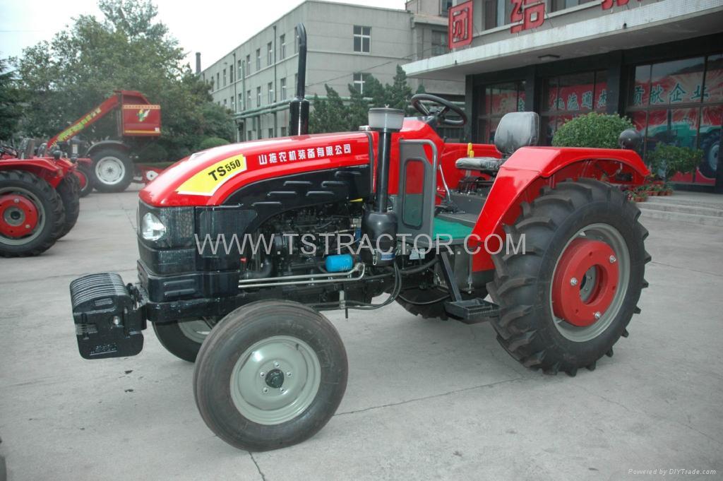 泰山牌农业拖拉机ts554