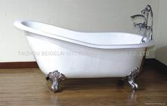 Antique Claw Foot Cast Iron Bathtub (BGL-88)