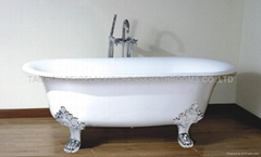 Freestanding Cast Iron Bathtub (BGL-85)