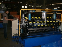 Tile-roofing Roll Forming Machine