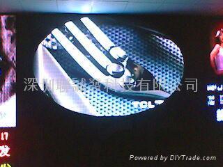 山東PH10LED戶內全彩顯示屏生產基地 4