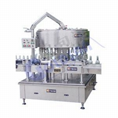 Wine Bottle Washing Filling Capping Line