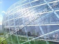 transparent window heat insulation