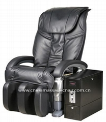 delux coin operated massage chair