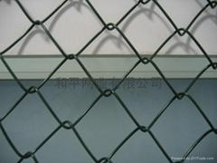 Chain link netting