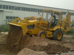 backhoe loader wheel excavator