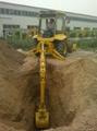 backhoe loader wheel excavator 3