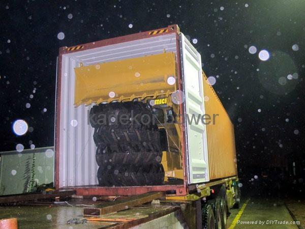 backhoe loader wheel excavator 4