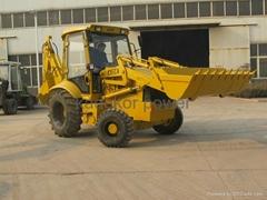 JCB copy backhoe loader excavator