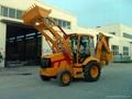 JCB copy backhoe loader excavator, digger  2