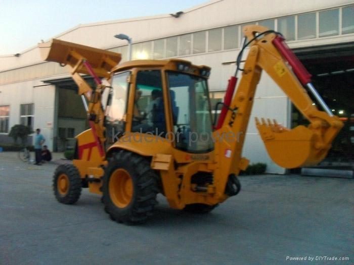 JCB copy backhoe loader excavator, digger  1