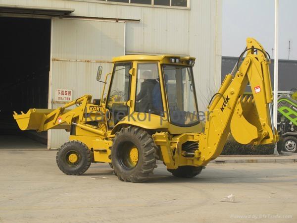 JCB copy backhoe loader excavator, digger  4