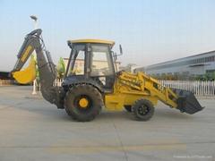 backhoe loader excavator wheel loader excavator loader