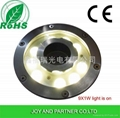 9W LED fountain Light with stainless steel