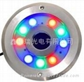 RGB LED fountain light