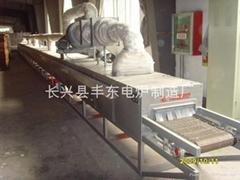 強熱風循環隧道式烘乾爐