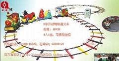 8字型轨道火车