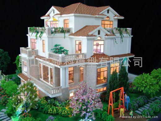 别墅模型 (中国 江苏省 生产商) - 建筑型材 - 建筑