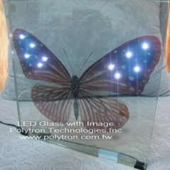LED Glass With Printed Image