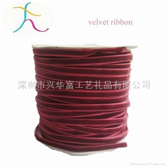 High-quality Red Velvet Ribbon