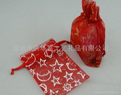 Popular Printed Organza jewelry pouch