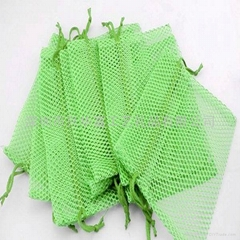 Gift mesh bag with drawstring ,net pouch package