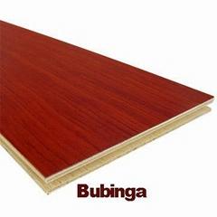 Bubinga Multilayer Engineered Flooring