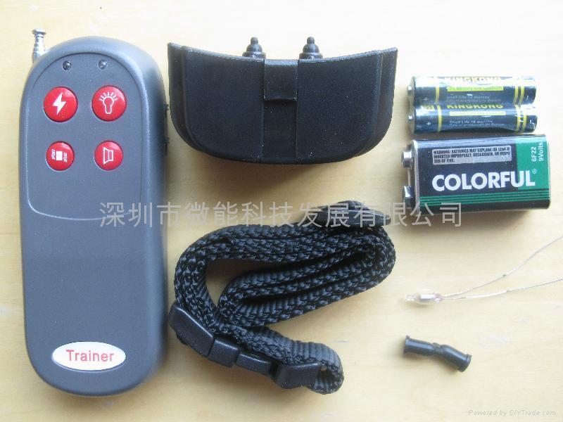 遥控震动带静电止吠器 1
